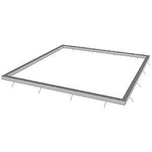 WS 48″ TREE GRATE FRAME