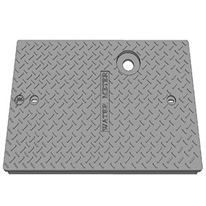TR266 C.I. WATERMETER COVER