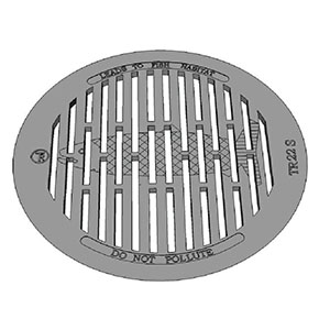 TR22S GRATE WITH FISH