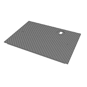 WATER METER COVER WITH CS HOLES (5686)