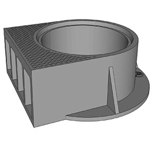 TR24B CURB INLET COVER