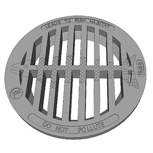 TR26B GRATE WITH FISH
